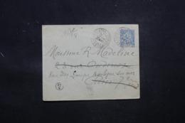 INDOCHINE - Entier Postal Type Groupe De Saïgon Pour Paris , Redirigé Vers Boulogne / Mer En 1901 - L 43345 - Briefe U. Dokumente