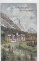 Cortina D'Ampezzo - Hotel Faloria - Affr.Austriaco - 1914           (191008) - Belluno