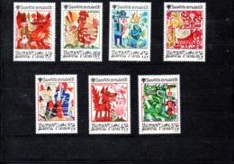 Hungria Nº 2996-02 Tema Internacional Del Niño, Serie Completa En Nuevo 7€ - Hungría