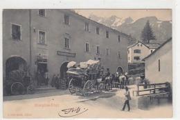 Passo Del Sempione - Diligenza - Cartolina Poliza Di Assicurazione - 1906           (191008) - Correos & Carteros