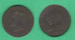1 Centesimo 1813 Venezia Napoleone I° Rè D'Italia - Temporary Coins