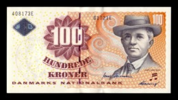Dinamarca Denmark 100 Kroner 2002 Pick 61a Second Sign SC UNC - Danimarca