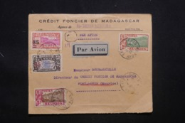 RÉUNION - Enveloppe Commerciale En Reco. De Saint Denis Pour Port Louis En 1933 , Affranchissement Plaisant - L 43351 - Storia Postale