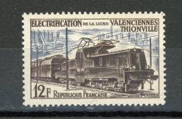 FRANCE - ELECTIFICATION CHEMIN DE FER - N° Yvert 1024** - Unused Stamps
