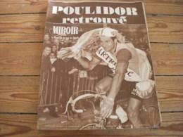 MIROIR SPRINT 1197 03.06.1969 CYCLISME 6 PROVINCES POULIDOR FOOT COUPE MILAN - Sport