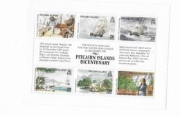 Pitcairn N° 317 à 322** - Islas De Pitcairn
