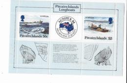 """Pitcairn Bloc Feuillet N° 7** """"AUSIPEX 1984"""" - Islas De Pitcairn"""