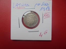 VATICAN 10 SOLDI 1868 (XXII) ARGENT (A.12) - Vaticaanstad