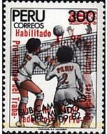 Ref. 27087 * MNH * - PERU. 1988. VOLLEYBALL . BALONVOLEA - Peru