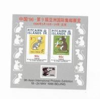 "Pitcairn Bloc Feuillet N° 13** ""China 1993"" Exposition Internationale à Pékin - Islas De Pitcairn"