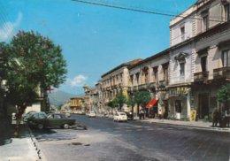 GIARRE - CATANIA - VIA CALLIPOLI - BAR CON INSEGNA PUBBLICITARIA BIRRA MESSINA - AUTO - Acireale