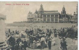 Oostende - Ostende - Le Kursaal Et La Plage - Edit. V.G. - Oostende