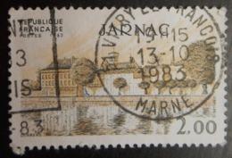 2287 France 1983 Oblitéré Jarnac  Charente 16 - France