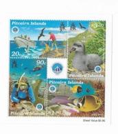 "Pitcairn Bloc Feuillet N° 17** ""Année Internationale De L'océan"" - Islas De Pitcairn"