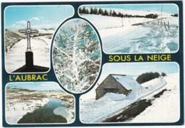 Les Monts D'Aubrac Sous La Neige - Aumont Aubrac