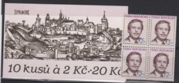 ARCH 25 - TCHEQUIE Carnet C 3 III Neuf** Président Vaclav Havel - Tchéquie