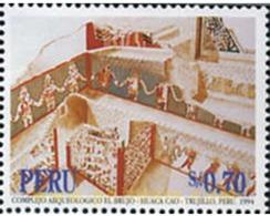 Ref. 351559 * MNH * - PERU. 1994. COMPLEJO ARQUOLOGICO EL BRUJO - HUACA CAO - TRUJILLO - Peru