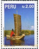 Ref. 351638 * MNH * - PERU. 1995. TURISMO - LAGO TITICACASEE - Barcos