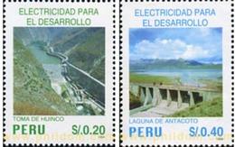 Ref. 351645 * MNH * - PERU. 1995. ELECTRICIDAD PARA EL DESARROLLO - Perú