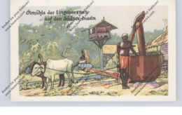 OZEANIEN - Südsee, Ölmühle / Oilmill, Homann-Sammelbild - Sonstige