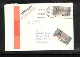 Spain 2000 Interesting Airmail Letter With ATM Postage - 1931-Tegenwoordig: 2de Rep. - ...Juan Carlos I