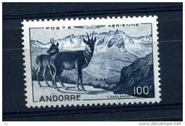 Andorre  -  Avion  :  Yv  1  ** - Poste Aérienne