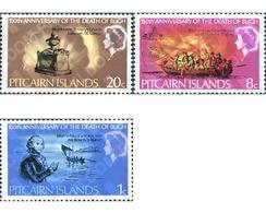 Ref. 221266 * MNH * - PITCAIRN ISLANDS. 1967. 150th ANNIVERSARY OF THE DEATH OF ADMIRAL BLIGH . 150 ANIVERSARIO DE LA MU - Unclassified