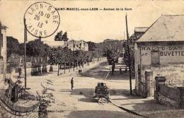 02 - SAINT-MARCEL-sous-LAON - Avenue De La Gare - - Frankrijk