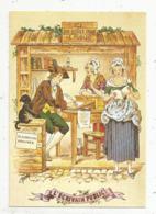 Cp, Métier : L'écrivain Public , Petits Métiers D'autrefois, Vierge ,  Ed. As De Coeur,illustrateur - Métiers