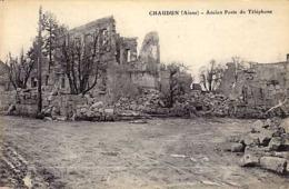 02 - CHAUDUN - Ancien Poste Du Téléphone - - Frankreich