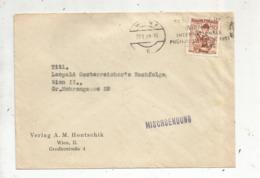 Lettre , AUTRICHE ,  WIEN 1 , 1951, MISCHSENDUNG ,flamme - Poststempel - Freistempel