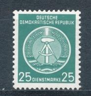 DDR Dienstmarken A 10 X YI ** Geprüft Schönherr Mi. 20,- - DDR
