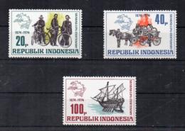 INDONESIA - 1974 - Centenario U.P.U. (Unione Postale Universale) - 3 Valori - Nuovi ** - (FDC17449) - Indonesia