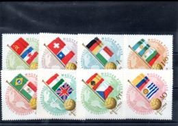 Hungria Nº 4505-11 + Aereo 231 Tema Banderas, Serie Completas En Nuevo 10,75 € - Hungría