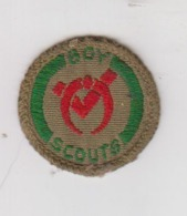 Scoutisme  Ancien écusson - Padvinderij