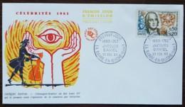 FDC 1963 - YT N°1374 - JACQUES DAVIEL - LA BARRE EN OUCHE - FDC
