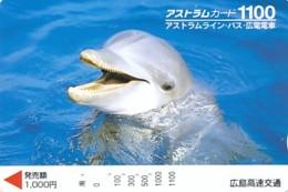 JAPAN - Prepaidkarte - Delphin - Siehe Scan - Delphine