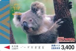 JAPAN - Prepaidkarte -Tiere - Siehe Scan - Telefonkarten