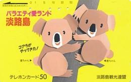 JAPAN  Telefonkarte -Tiere - Siehe Scan - Telefonkarten
