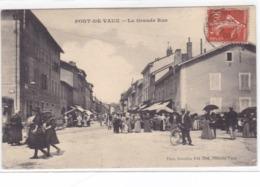 Ain - Pont-de-Vaux - La Grande Rue - Pont-de-Vaux