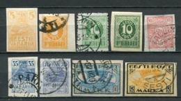 Estland Nr.5/13         O  Used + *  Unused       (138) - Estland