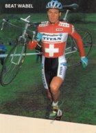 7224 CP Cyclisme Beat Wabel - Cyclisme