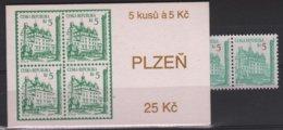 ARCH 26 - TCHEQUIE Carnet C 17 Neuf** PLZEN - Tchéquie