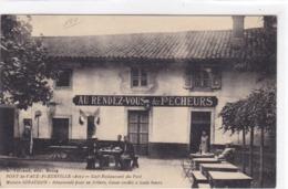 Ain - Pont-de-Vaux-Fleurville - Café-Restaurant Du Port - Maison Giraudon - Recommandé Pour Sa Friture, Casse-croute - Pont-de-Vaux
