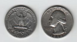 ETATS UNIS  Quarter Dollar 1944  USA - Federal Issues