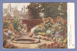 CPA - PEINTURE - W. G. ADDISON - THE GARDEN OF KENT - KITCHEN GARDEN CAPEL MAJOR - THE DORÉ GALLERY - Pittura & Quadri