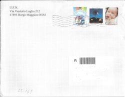 San Marino/Saint-Marin: Raccomandata, Registered Mail, Recommandé - Saint-Marin