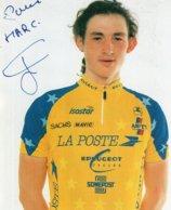 7234 CP Cyclisme Ludovic Auger Dédicacée - Cyclisme