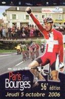 7240 CP Cyclisme Paris Bourges 2006 - Cyclisme
