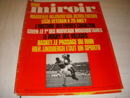 MIROIR SPRINT 1273 24.11.1970 TENNIS GOVEN FOOT Les CHARLTON AVION LINDBERGH - Sport